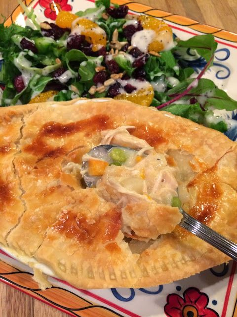 Dream home cooking girl love in a dish my homemade chicken pie dream home cooking girl homemade chicken pot pies forumfinder Image collections
