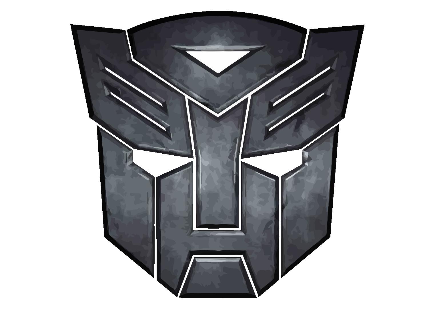 Autobot From Transformer Logo Vector Ide Pesta Seni Ide