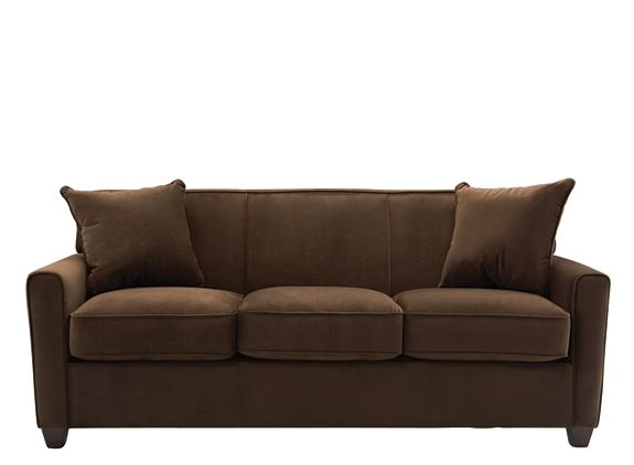 Best Parker Microfiber Sofa Sofas Raymour And Flanigan 400 x 300