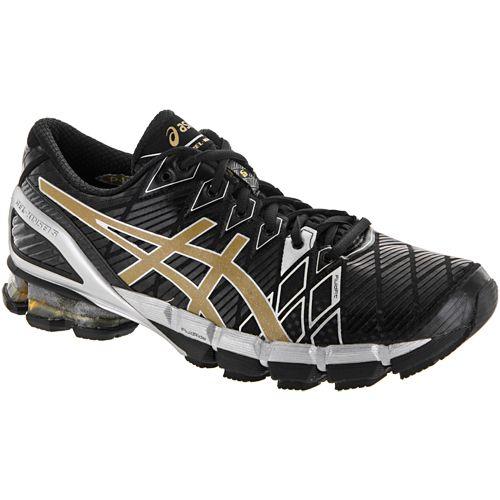 Asics Gel Kinsei 5 Asics Men S Running Shoes Black Gold Silver