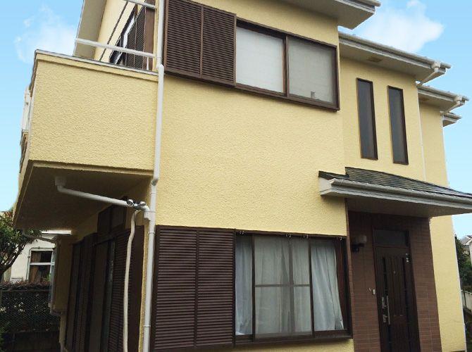 東京都立川市の外壁塗装 屋根塗装工事の施工事例 画像あり 塗装