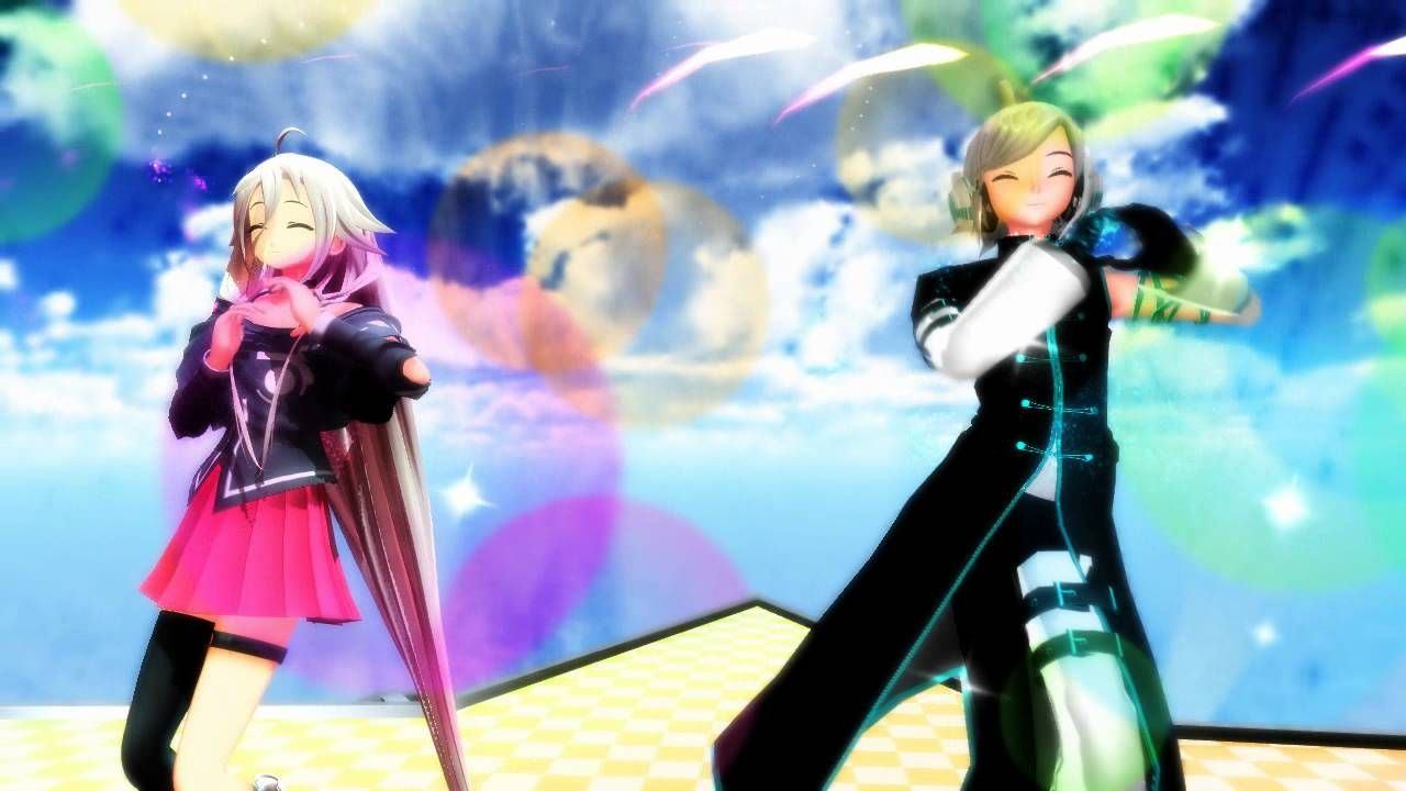 vocaloid ia and piko mmd this song makes me want to ship them