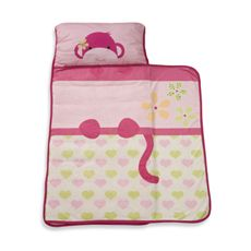 Lambs Ivy Monkey Nap Mat Pink Bed Bath Beyond This Adorable