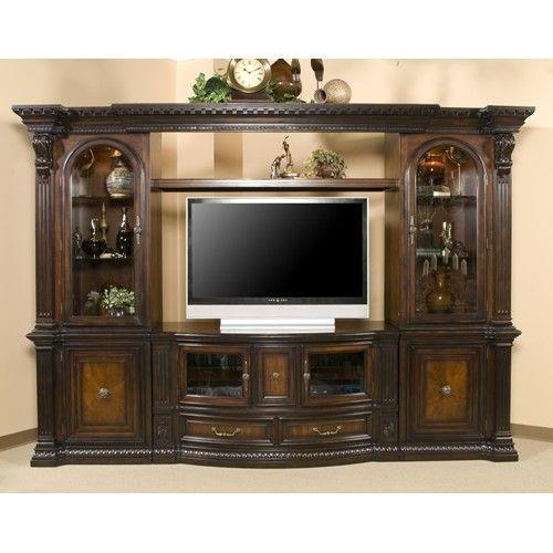 Decor Stunning Royal Furniture Southaven Ms With Amazing: Fairmont Designs Grand Estates Entertainment Center W/ 2