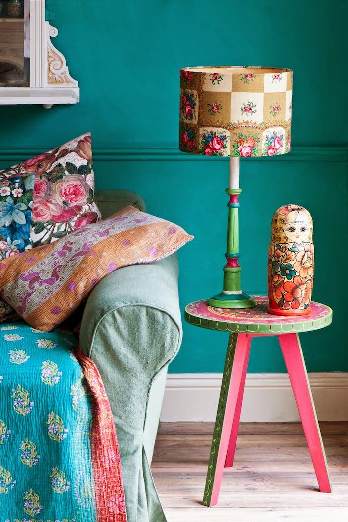 From Annie Sloans Room Recipes For Style And Color Book Bright
