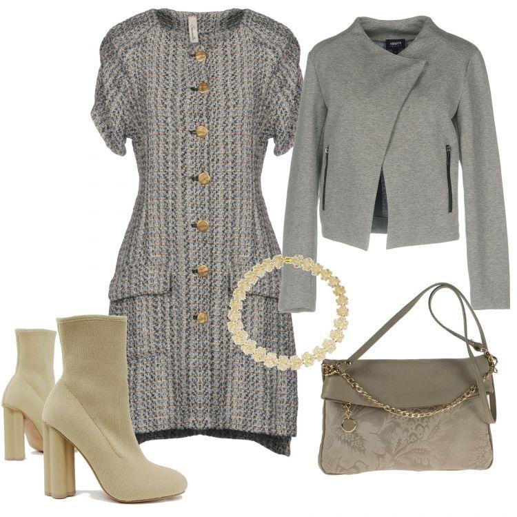 giacca elegante donna panna