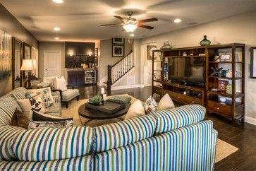 Ashton Woods Atlanta Basements - Traditional - Basement ...