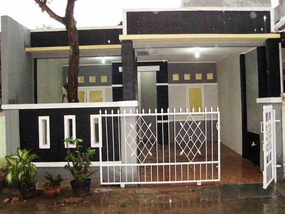17 Contoh Model Pagar Rumah Minimalis Berkonsep Modern Rumah Minimalis Desain Rumah Minimalis Rumah