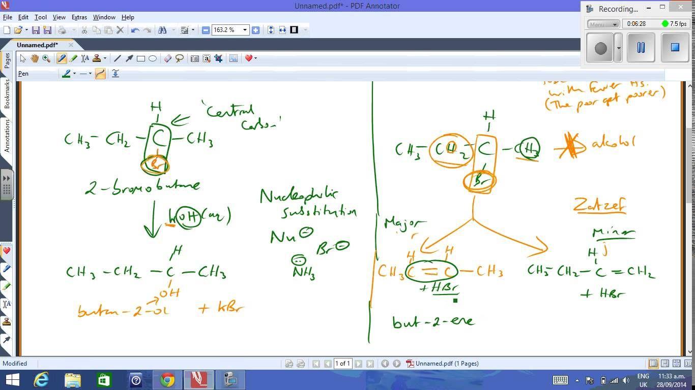 Ncea Level 2 Chemistry Markovnikov And Zaitzef Https Www Youtube