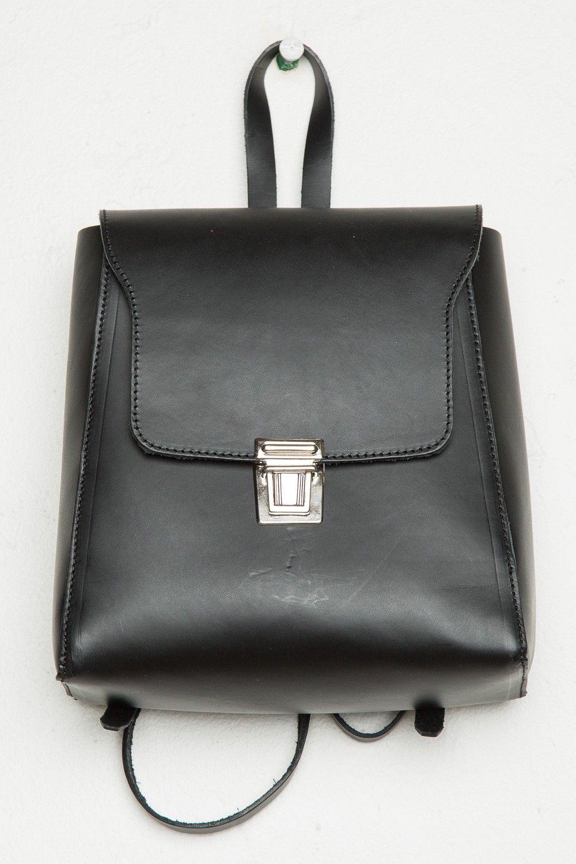 Brandy ♥ Melville | Black Buckle Backpack - Bags & Backpacks ...