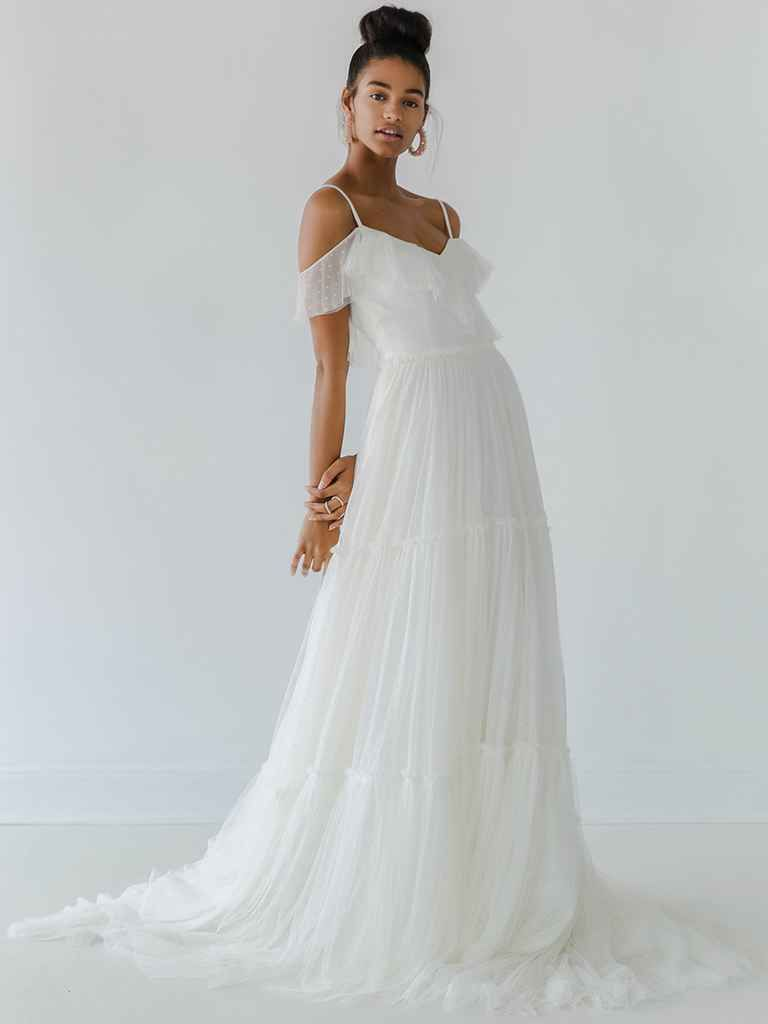 Ivy u aster fall balletinspired wedding dresses wedding