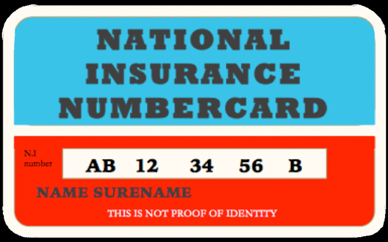 8 Facts You Never Knew About National Insurance Card Uk In 2020