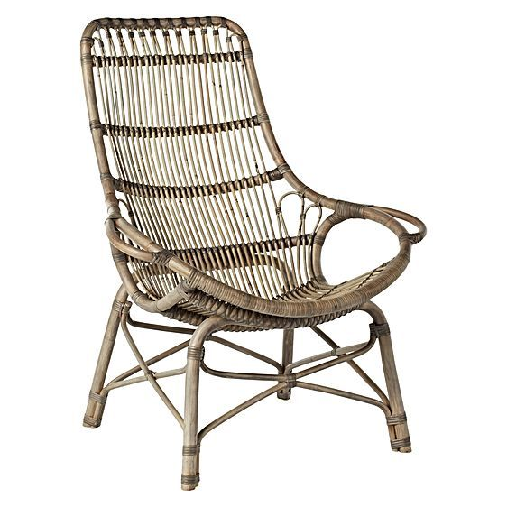 Tango Liso Rattan Occasional Chair by GLOBE WEST ...