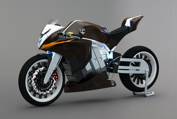 M2 Electric racing motorcyle
