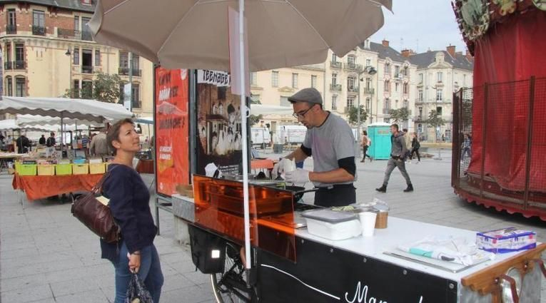 Foodbike à Rennes. Manger !, la cuisine ambulante à