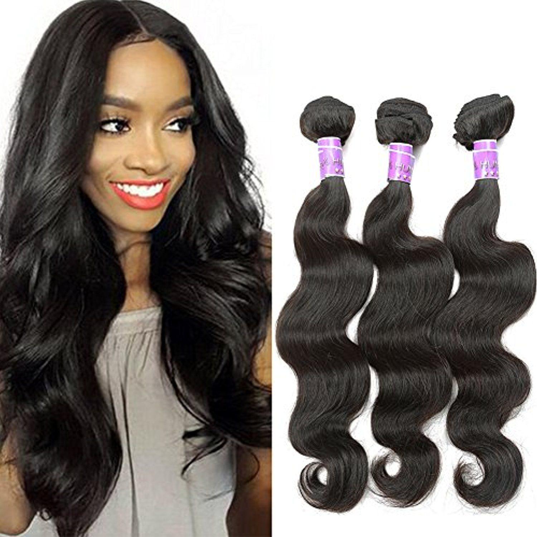 Blackmoon Hair 18 20 22 Inch Indian Virgin Remy Human Hair