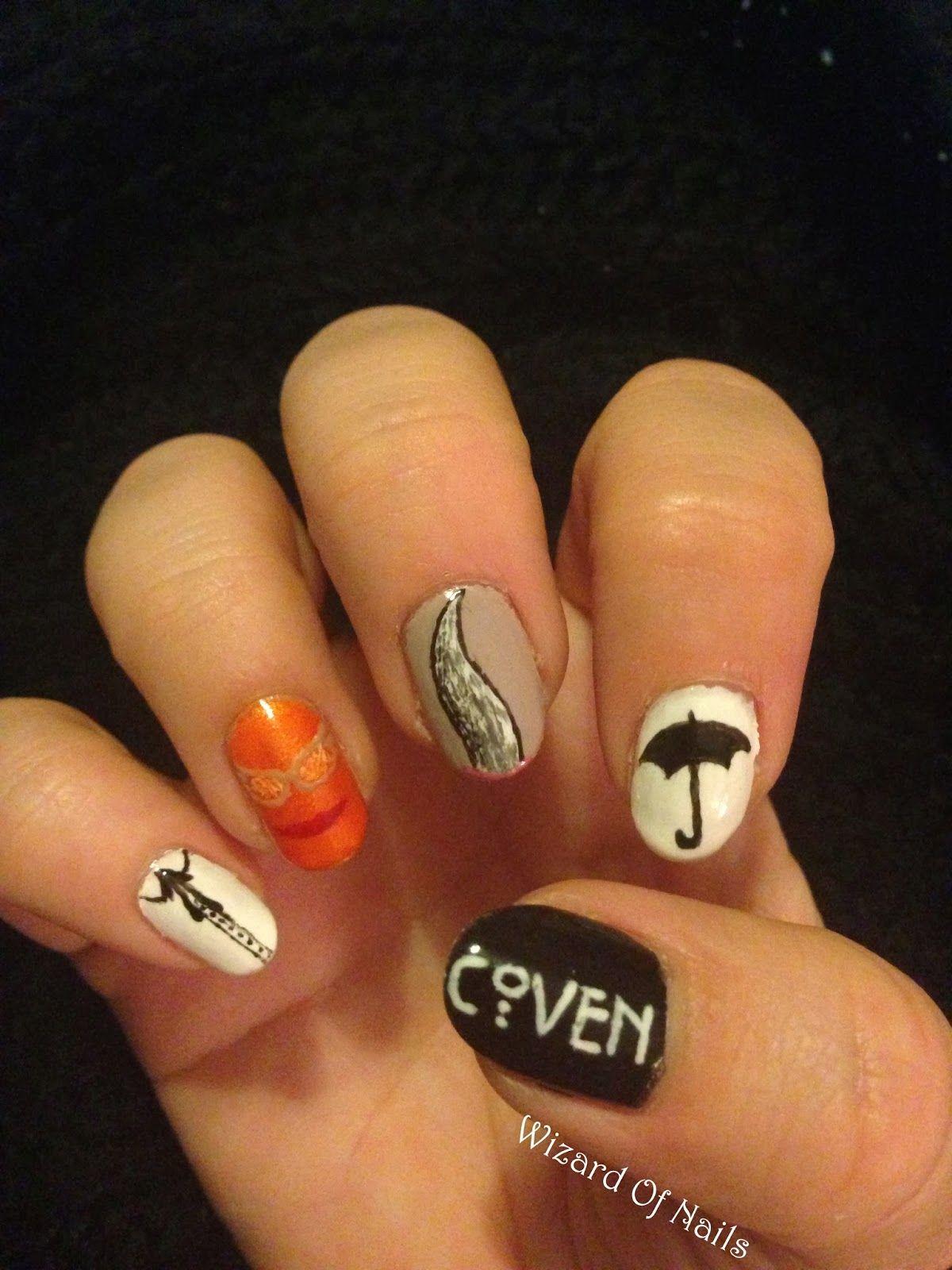 American Horror Story: Coven nails   ahs.   Pinterest   American ...