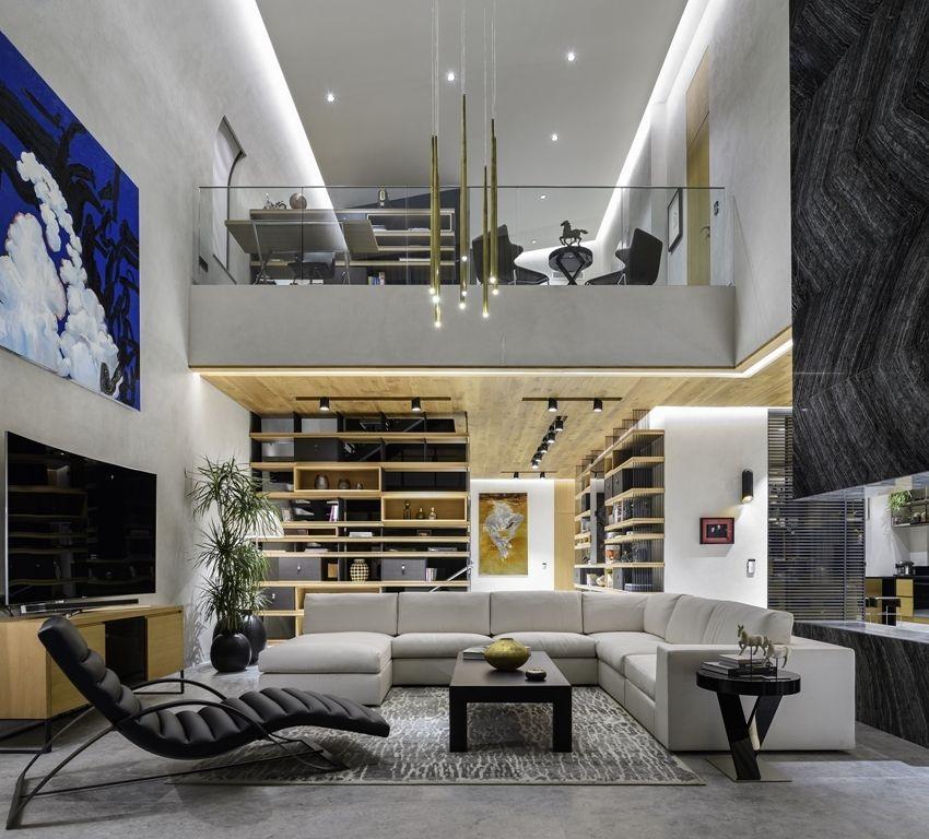 Luxury Interior Design Of A Modern Turkish Home In Antalya
