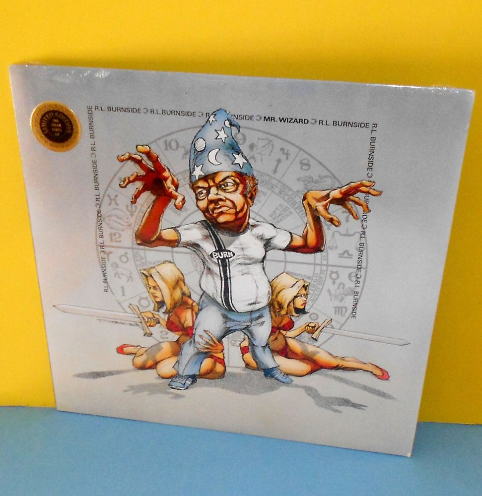 RL BURNSIDE mr wizard LP Record GRAM Limited Edition Vinyl