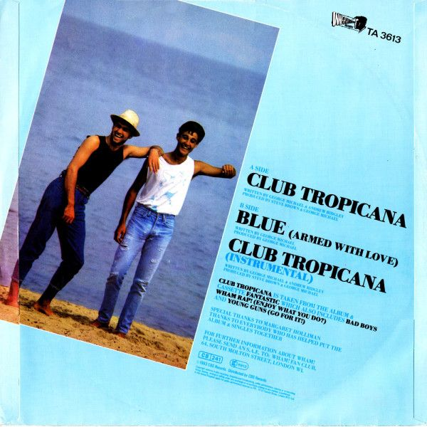 Vinyl Monday 5 In 2020 With Images Wham Club Tropicana Club Tropicana George Michael