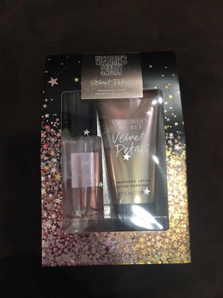 f0d6ba908ed New Victoria s Secret Velvet Petals Mini Mist   Lotion Gift Set Christmas   VictoriasSecret
