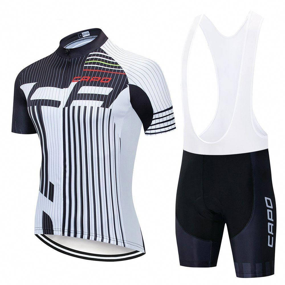 Mens Cycling Team Jerseys Bike Tops Shirt Short Sleeve Bicycle Outfits Race Wear