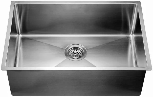 Dawn 27 Stainless Steel Undermount Kitchen Sink Xsr251610 With