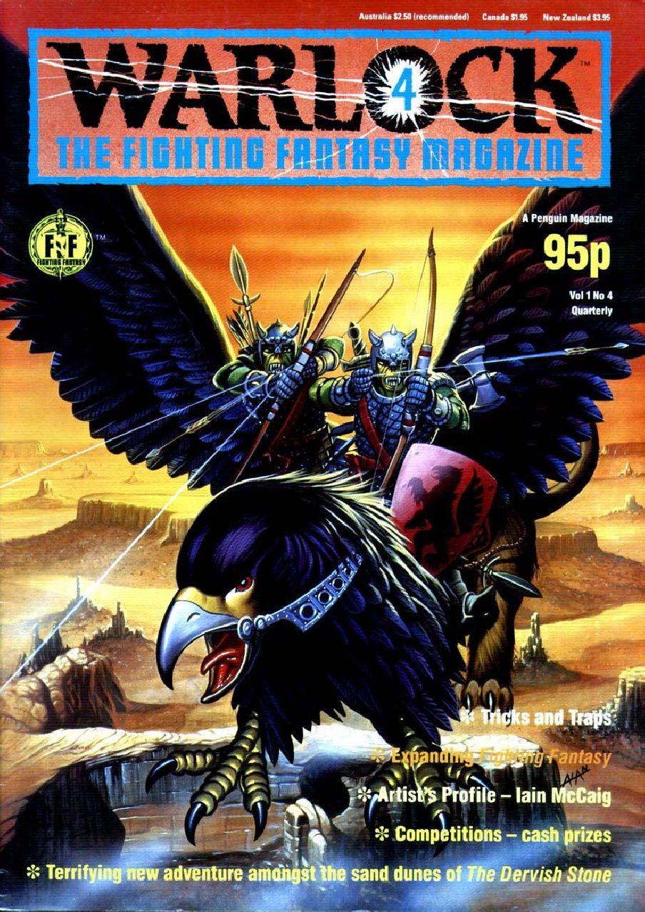Warlock The Fighting Fantasy Magazine #4 | Dragon magazine