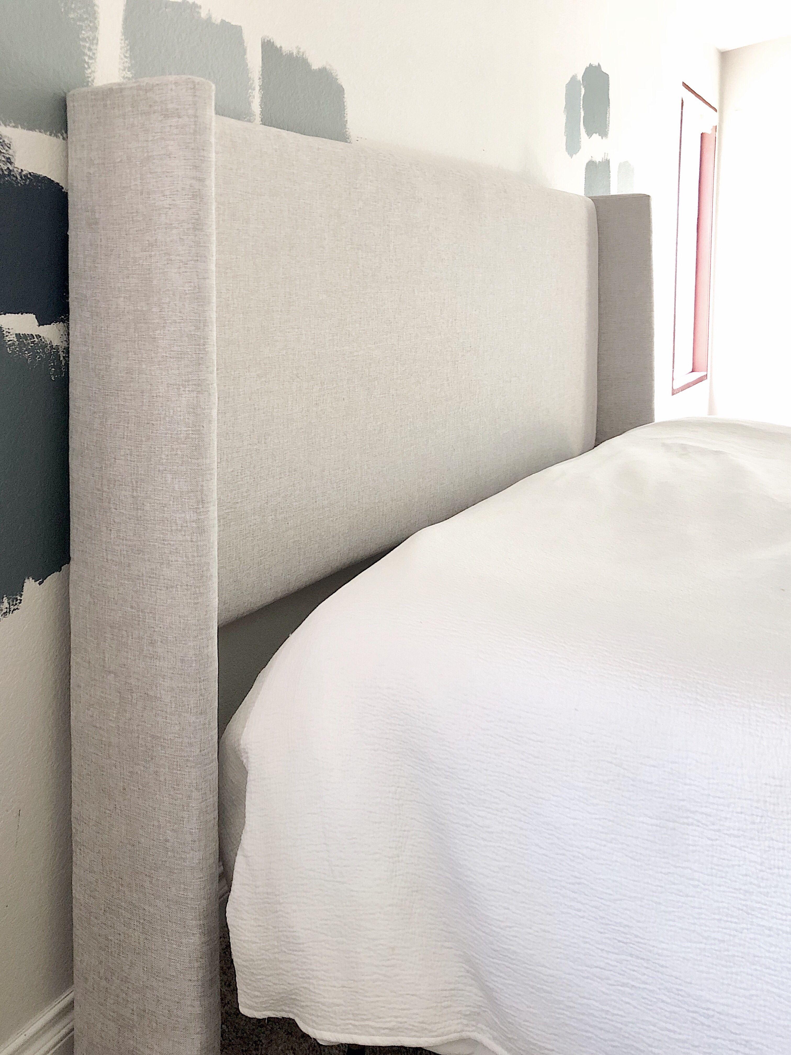 Diy Upholstered Wingback Headboard For 80 Diy Headboard