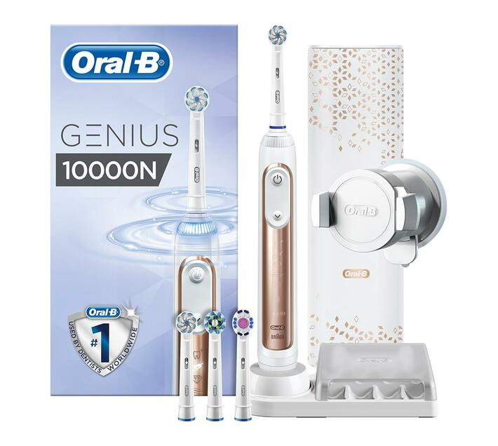 Oral-B Rechargeable Electric Toothbrush - Genius 10000 - Rose Gold | Toothbrush | Toothbrush | Toothbrushes | Oral Care | Health & Beauty | Makro Online Site