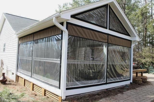 Clear Vinyl Plastic Enclosures Mosquito Curtains Patio Windows Outdoor Patio Space Patio Sun Shades