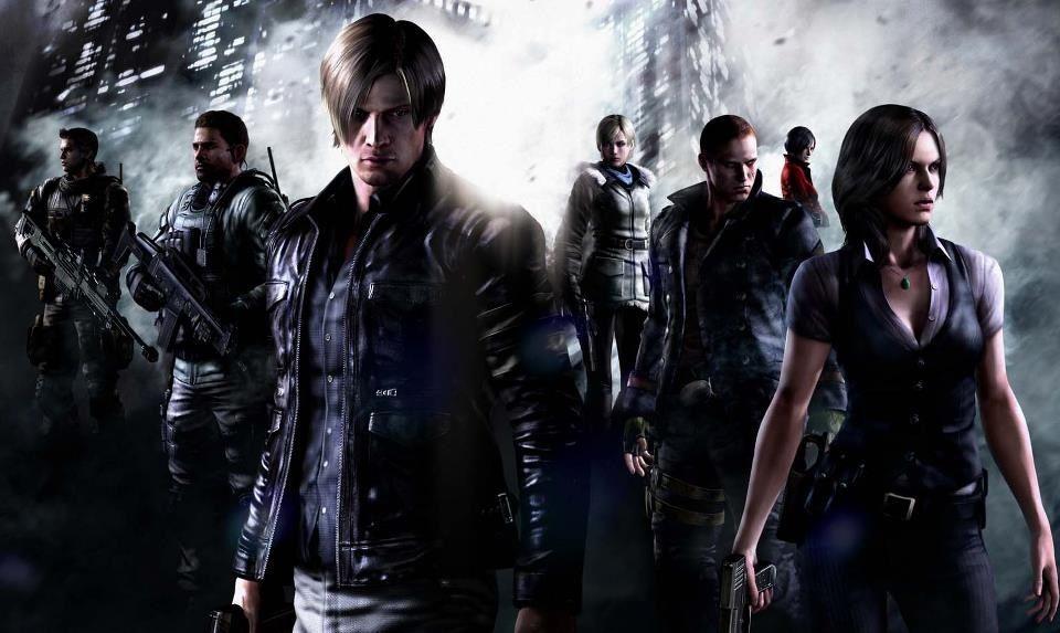 Resident Evil 6 Piers Nivans Chris Redfield Leon S Kennedy Sherry Birkin Jake Muller Ada Wong And Helena H Resident Evil Resident Evil 5 Residen Evil 6