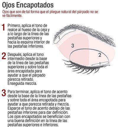 ... en Pinterest   Maquillaje Para Ojos Caidos, Ojos Caídos y Parpados