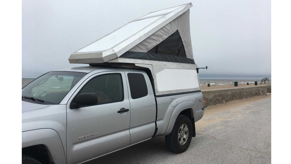 Leentu Sunzal Offers PopUp Spot To Camp In Your Pickup in