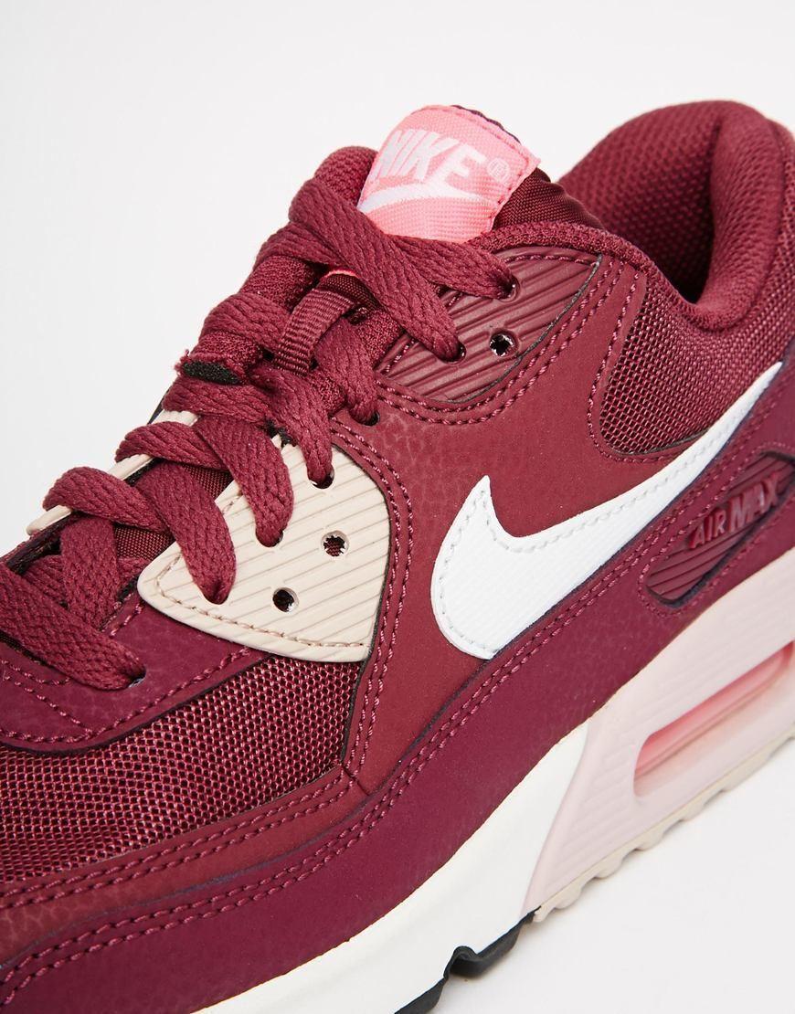 air max 90 burdeo Nike online – Compra productos Nike baratos