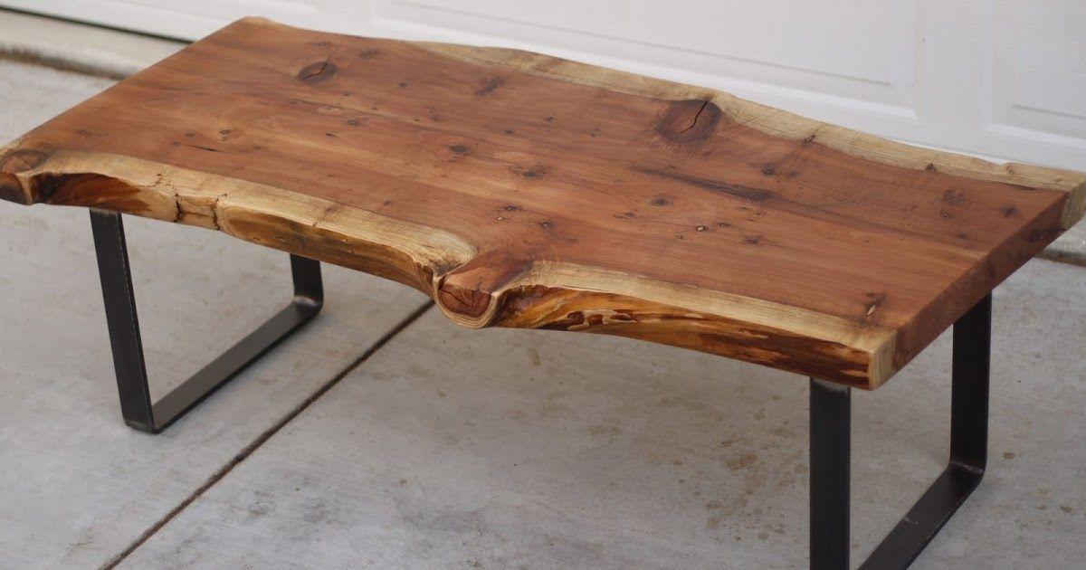 Arbor Exchange Reclaimed Wood Furniture Redwood Slab Coffee Table Wood Slab Table Coffee Table Wood Raw Wood Coffee Table