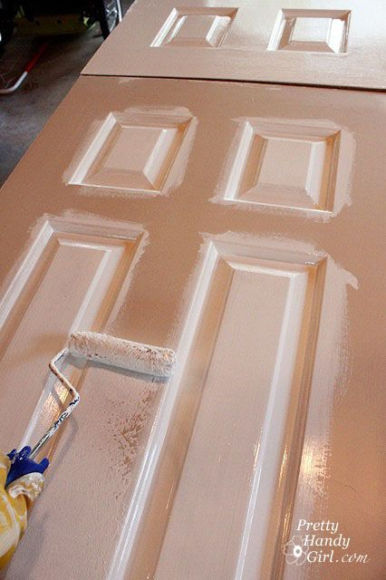 How To Paint Doors The Professional Way Pretty Handy Girl Home Repairs Diy Home Improvement Painted Doors