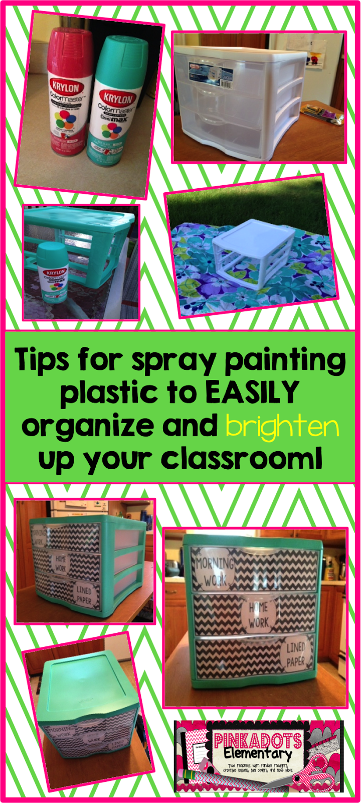 Someone was just asking about painting plastic crates for What do you paint first