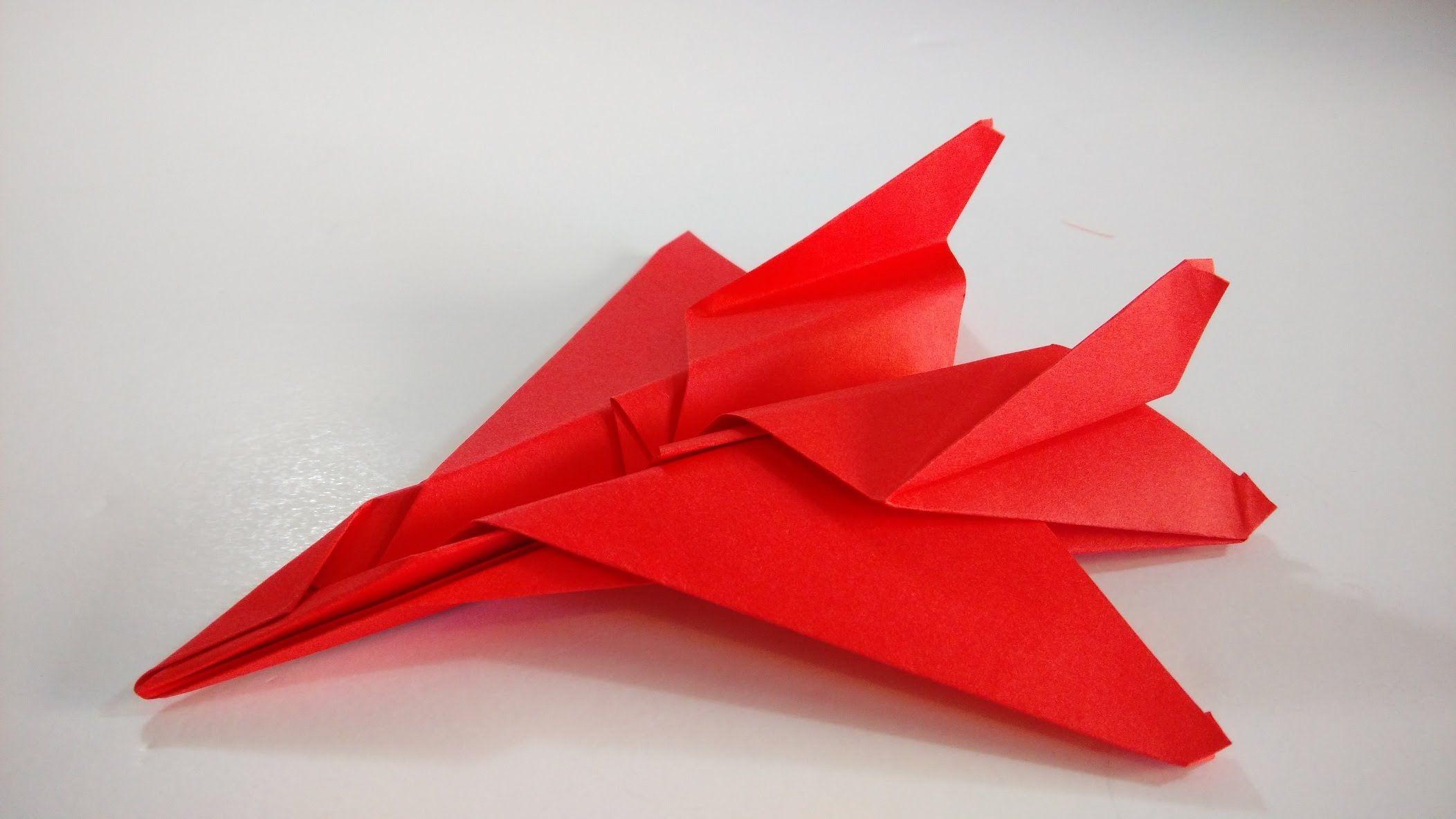 Como Hacer Un Avion De Papel F15 Eagle Jet Fighter Aviones De Papel Como Hacer Un Avion Sobres De Papel