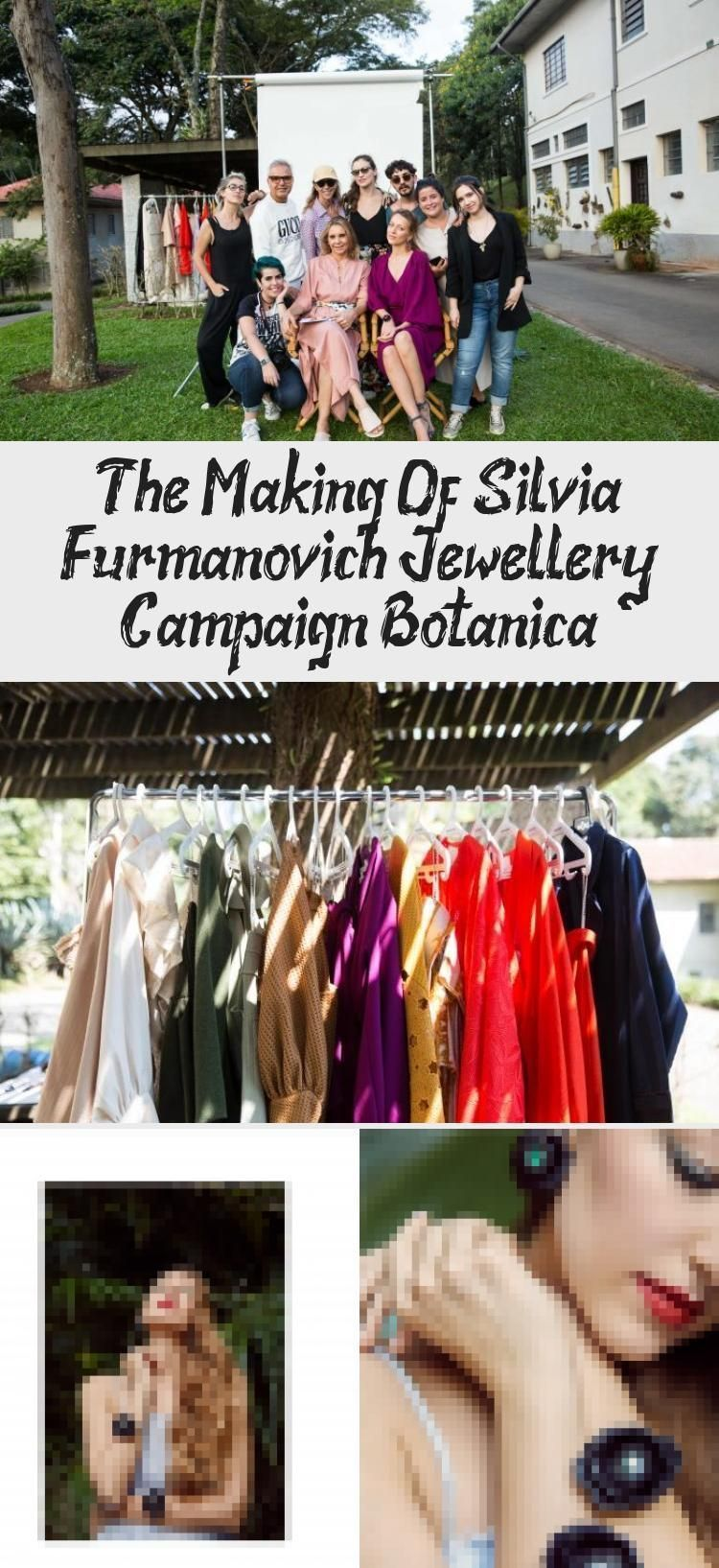Photo of The production of Silvia Furmanovich Jewelery Campaign Botanica | modeling jewel…