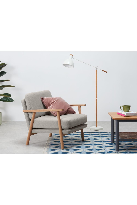 Made Sessel Natur Sessel Armlehnen Design