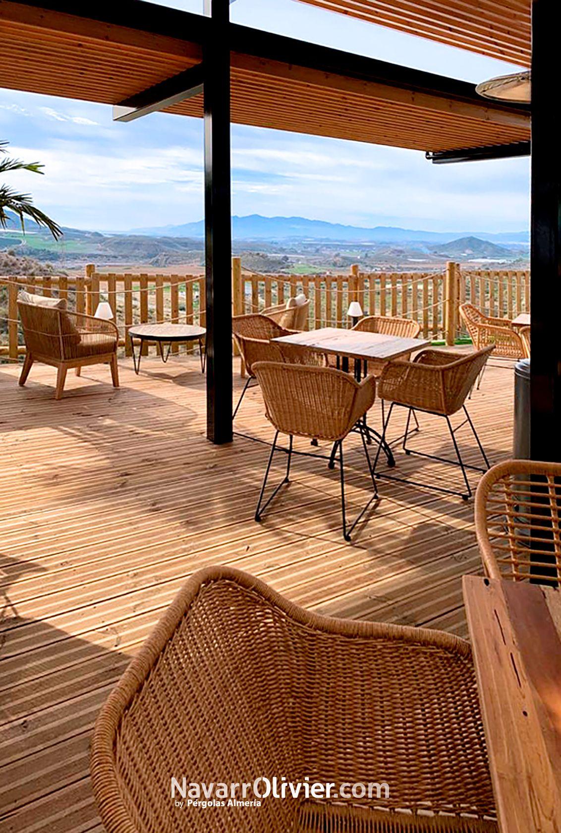 Terraza Mirador Restaurante La Fabrica En 2020 Decoracion De Unas Arquitectura Madera