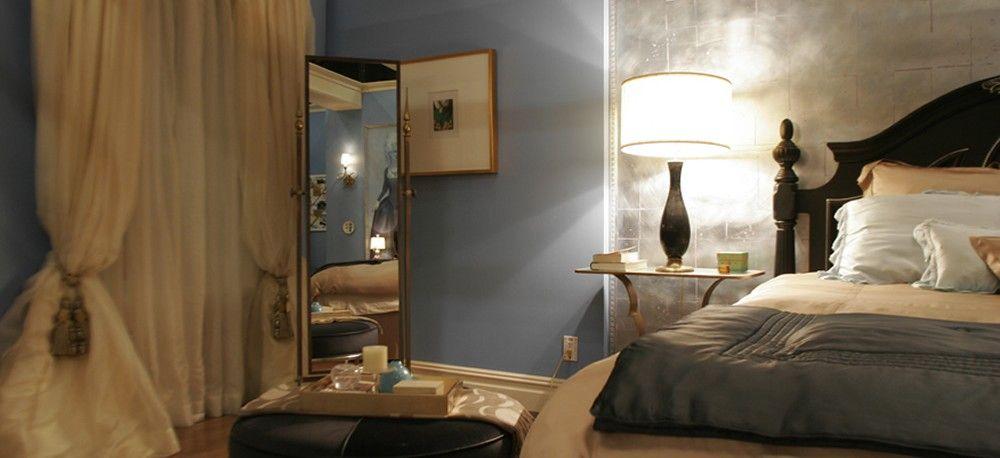 van der woodsen residence - serena's bedroom - gossip girl interiors set  decoration by christina tonkinChristina