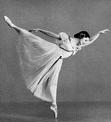 Cuban ballerina Alicia Alonso.