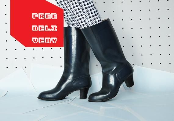 Vintage rubberboots