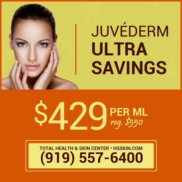 Juvederm Ultra Offer Skin Center Skin Health Spa Specials