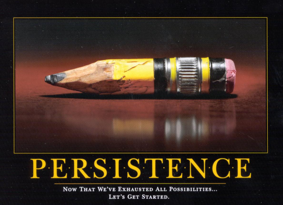 persist.png 1,189×862 pixels | Inspirational Posters ...
