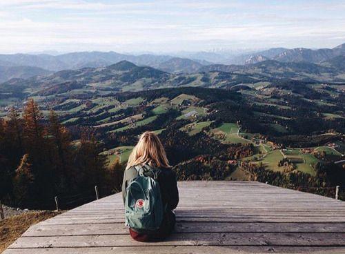 Mountains for miles #kankenkreep via @ohhjuliette | #fjallravenkanken…