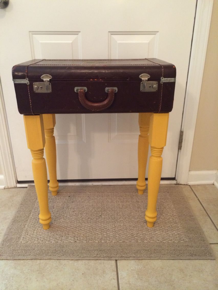 Diy suitcase table - Diy Suitcase Table House Pinterest Suitcase Table And House