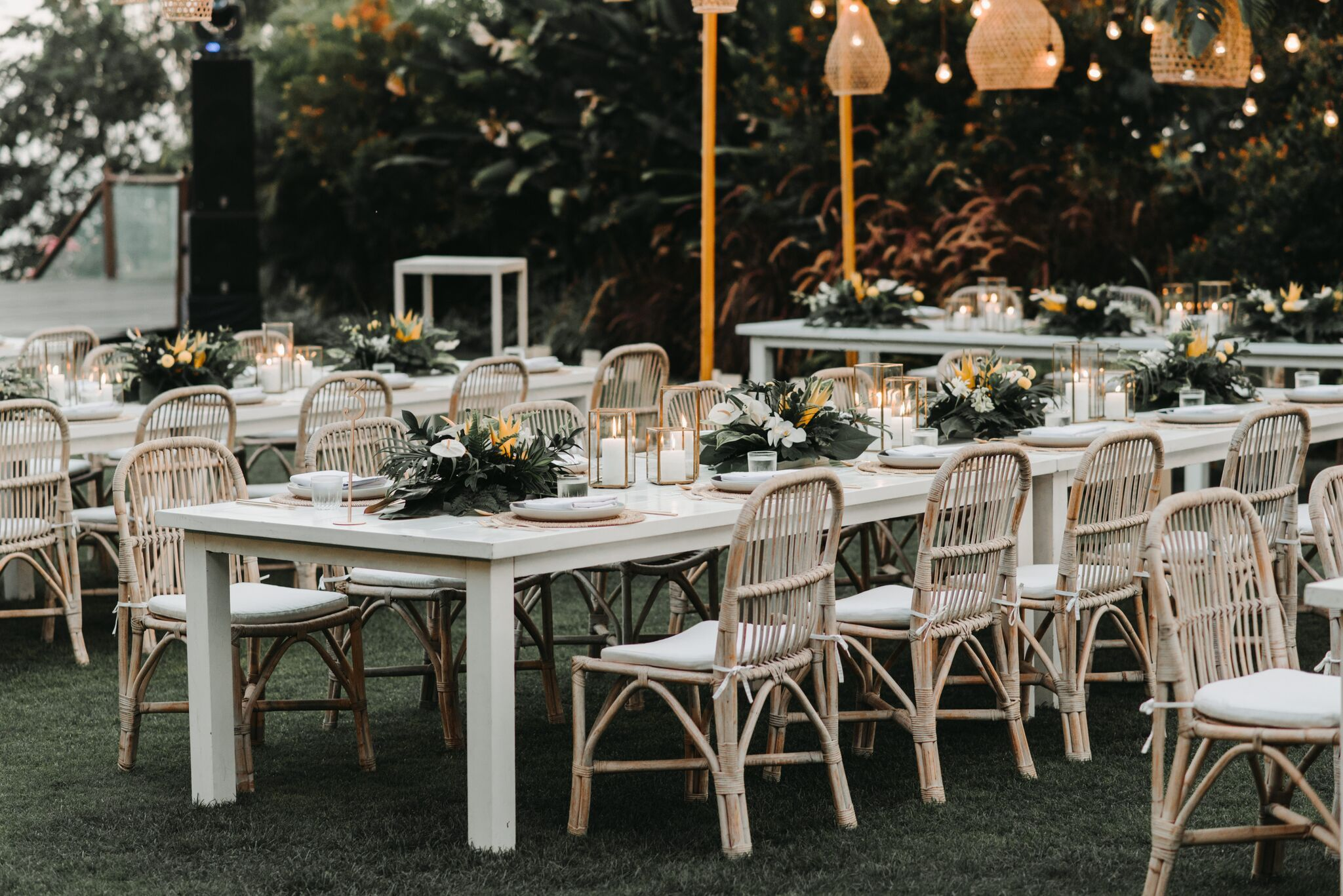 Bali Event Hire Jessica Michael Wedding Furniture Rental Simple Table Decorations White Dining Table